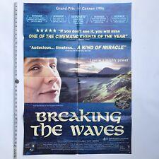 Lars Von TRIER - BREAKING THE WAVES - Original Full Sheet BILL .