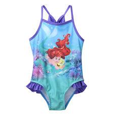 Princesa Niño Niña SIRENA Traje De Baño Bikini Tankini Traje De Baño Natación