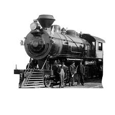 ANTIQUE STEAM TRAIN LOCOMOTIVE No 3318 CARDBOARD CUTOUT Standee Standup Prop F/S
