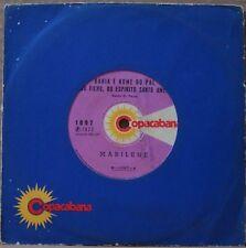 """MARILENE 1972 """"Bahia E Nome Do Pai"""" Funk Samba Jazz Bossa 7""""  BRAZIL 45 HEAR"""
