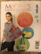 McCalls Fashion Accessories MP360 Tote Fashion Bags OSZ Uncut