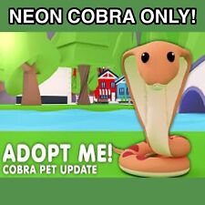 Roblox Adopt Me Pet, 1x Adopt Me Neon Cobra Only - Cheap And Quick Delivery 🚚