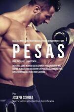 Recetas para Construir Musculo para Entrenamiento con Pesas, para Pre y Post ...