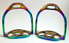 Stirrup Horse Stainless Steel Rainbow Ultimate Comfort Fine Quality