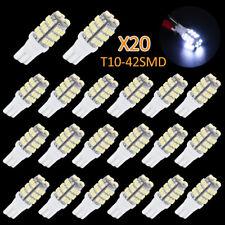 20x Super White T10/921/194 RV Trailer 42-SMD LED Backup Reverse Lights Bulbs