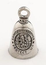 ST CHRISTOPHER Guardian® Bell Motorcycle - Harley Luck Accessory HD Gremlin NEW
