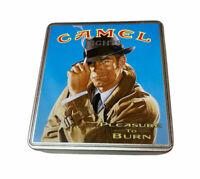 Cigarette Tin Dispenser Vintage Camel Lights Promotion Made in Germany PI