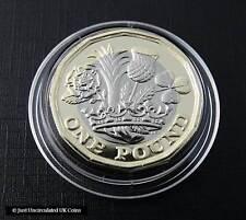 2017 moneda de 1 € - 12 lados uncirculated brillante Una Libra Moneda-Royal Mint