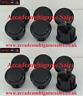 12 Black Sanwa OBSF30 arcade buttons