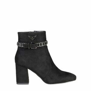 Laura Biagiotti Schuhe Stiefeletten Stiefel Schwarz Gr. 37 Shoes обувь NEU