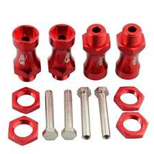 RC Red Wheel Hex Driver 12mm Turn 17mm Hex Adapter 30mm Extension For Truck