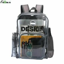Clear Casual Style Backpack Teenager Women Fashion Rucksack Shoulder Bag