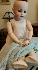 Simon Halbig S&H 1279 DEP Head Porcelain 12 Vtg Composition Doll Body Glass Eyes
