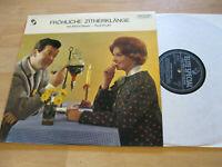 LP Rudi Knabl Alfons Bauer Fröhliche Zitherklänge Vinyl ELITE SOLP-S-33-258