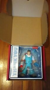 Mattel First Responders Nurse Hero New In Box  Hard to find item