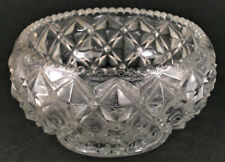 Imperial Depression Glass Diamond Block Little Jewel Lily Bowl.