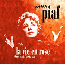 CD Edith Piaf La Vie en Rose the Collection Del 2CDs