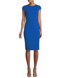 DIANE VON FUSTENEBERG DVF Hadlie Blue Dress