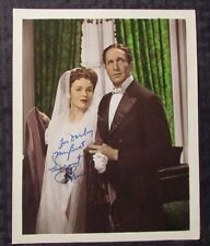 Vintage VINCENT PRICE Signed / Inscribed 8x10 FN Color Photo