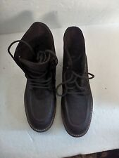 STEVE MADDEN BOOTS MEN'S NEWBURGH SIZE 12 D BROWN ABOVE ANKLE BOOT