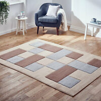 Small Large Thick Beige Grey Geometric Box Modern Soft Sale Area Low Cost Rugs