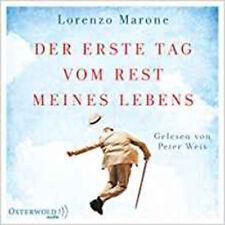 Der Erste Tag vom Rest Meines Lebens Lorenzo Marone 6 Audio CDs TS01 016