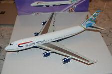 "Inflight 200 1/200 Scale British Airways 747-200 ""Blue Poole"" G-BDXD, NIB"