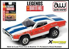 Auto World New Sox & Martin '71 Plymouth Road Runner Also Fits AW, AFX, JL
