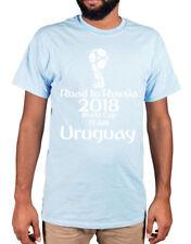 Uruguay World Cup 2018 T-Shirt Russia Football Garra Charrúa Suárez Godin URU