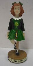 Irlanda Irlandés Bailarina Vestido Verde Ornamento