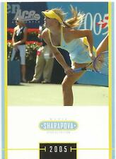 2005 ACE JAPAN HOLIDAY MARIA SHARAPOVA RC #MS-35 ROOKIE SPECIAL EDITION