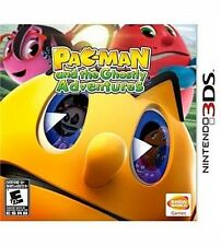 PAC-MAN And The Ghostly Adventures Nintendo 3DS Kids Pacman 1 Video Game Rare!