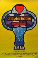 CHAPTER HOUSE POSTER; BLOOD MUSIC (C11)