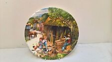 Royal Doulton Old Country Crafts Series Collectors Plate The Basket Maker Boxed
