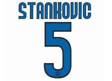 Stankovic #5 Inter Milan 2009-2010 Away Football Nameset for shirt