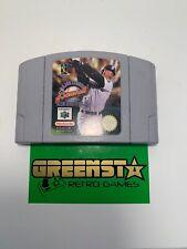Major League Baseball Featuring Ken Griffey Jr Nintendo 64 N64 PAL Australian Ex