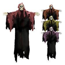 Large halloween à capuche squelette wall/door hanging décoration (random couleur)