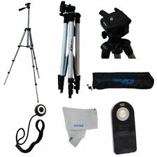 "50"" Tripod/ REMOTE/CAPKEEPER  For Canon EOS Rebel  1100D T5 T3 T4 SL1 XTI XS"