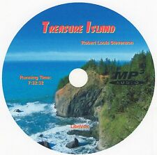 TREASURE ISLAND, Robert Louis Stevenson, AudioBook MP3 CD