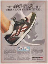 d2074c8954a8 Original 1986 Reebok GL6000 Vintage Print Ad