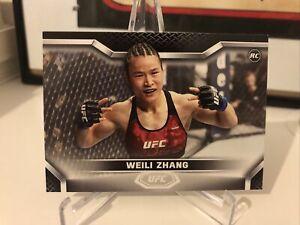 Weili Zhang UFC Topps 2020 KO Rookie MMA Card
