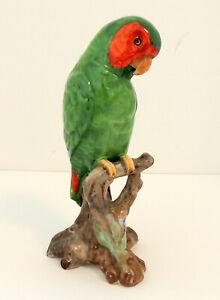 Spode Copeland Parrot Figurine England Bird Statue Perched