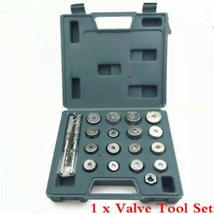20Pcs Valve Seat Reamer Motorcycle Repair Displacement Cutter Valve Tool Set