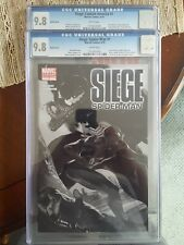 (2010) MARVEL SIEGE CAPTAIN AMERICA & SPIDER-MAN& #1   CGC 9.8