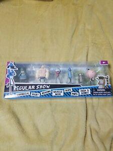 Regular Show Cartoon Network Mini Figures 7 PACK