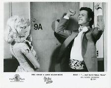 TERI COPLEY LANCE WILSON-WHITE SMILING WE GOT IT MADE ORIGINAL 1987 TV PHOTO