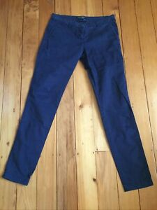 Maison Scotch And Soda Navy Stretch Canvas Ladies Jeans Size 28 x 32