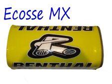 Guidons, poignées et leviers jaunes Renthal pour motocyclette
