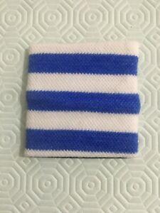 Polsino in cotone elastico da polso tennis sport palestra unisex RIGHE da corsa