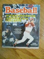 1986 O-Pee-Chee Baseball Album Stickers Empty Sealed
